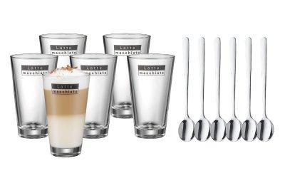 Latte Macchiato Gläser mit Löffeln im Set von WMF