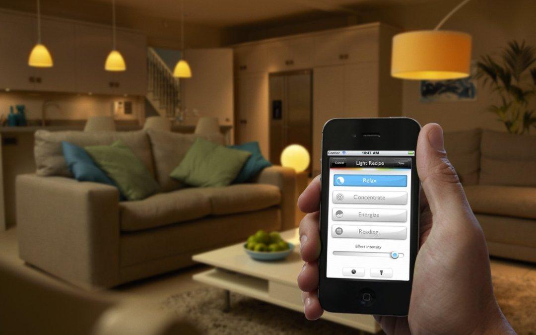 Geschenkidee Philips hue LED Lampen per App steuern Geschenk