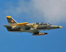 L-39 Albatros Jet-Flug