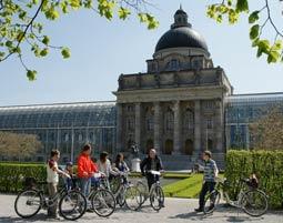 Fahrrad-Stadtrundfahrt Muenchen fuer 2