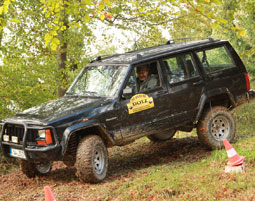 Jeep Offroad fahren am Nuerburgring