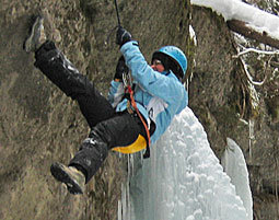 Kristall-Canyoning im Winter