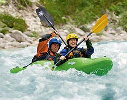 Wildwasser-Zweierkajak mit Profi in Wien