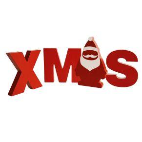 Die etwas andere Weihnachtsdeko für Schaufenster o.ä. Maße: je Buchstabe ca. B13 x 16 x T2,5 x H15 cm, Gewicht: ca. 1,3 kg, Material: MDF.<br>