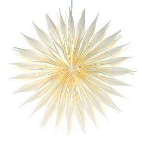 Wunderschöner Lampion aus festem Papier. Inklusive festem Geschenkkarton, Leuchtmittel nicht inkl, Maße: Dahlie ca. 52 cm Ø, Fuchsia ca. 60 cm Ø, Ornamente ca. 60 cm Ø, Gewicht: ca. 0,7 kg, Material: Papier.<br>