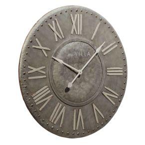 Wunderschöne Uhr. Vintage-Look, Batterien: 1 Mignonbatterie (exklusive), Maße: ca. Ø89 x T6,5 cm, Gewicht: ca. 7,7 kg, Material: Metall.<br>