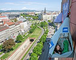 Ganz Wien traeumt vom Biwaking!
