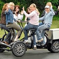Round-Table Bike fuer bis zu 6 Personen in Muenchen