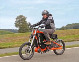 Das Elektro-Motorbike rockt!