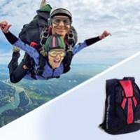 Fallschirm Tandem & Sky Diver Rucksack