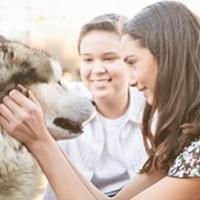 Husky-Tour fuer Kinder im Spreewald