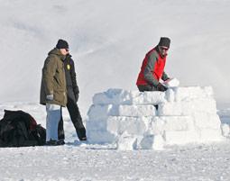 Auf dieses Schneeparadies koennen Sie bauen!
