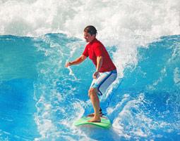 Surfen Sie auf der Geniesserwelle!