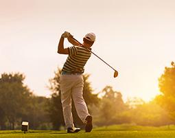 Golfen, wo die Eagle fliegen.