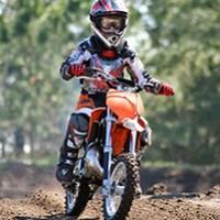 Motocross-Schnupperkurs fuer Kinder bei Deggendorf
