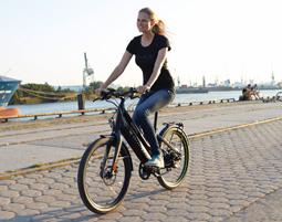 Stylisches E-Bike statt Oma-Rad!