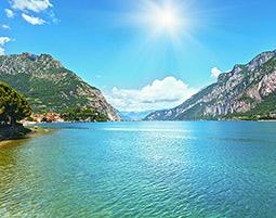 Viel Action zwischen Bergen und Seen!