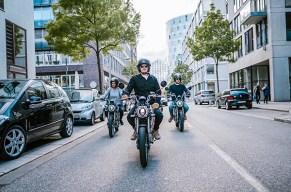 Mit dem E Moped über die Strassen Hamburgs düsen!