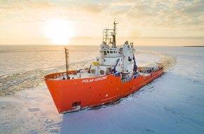 Eisbrecher Reisen: Eisiges Abenteür mit Eisfloating & Fototour
