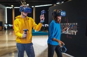 Kämpft euch im VR Escape Game durch fantastische Welten