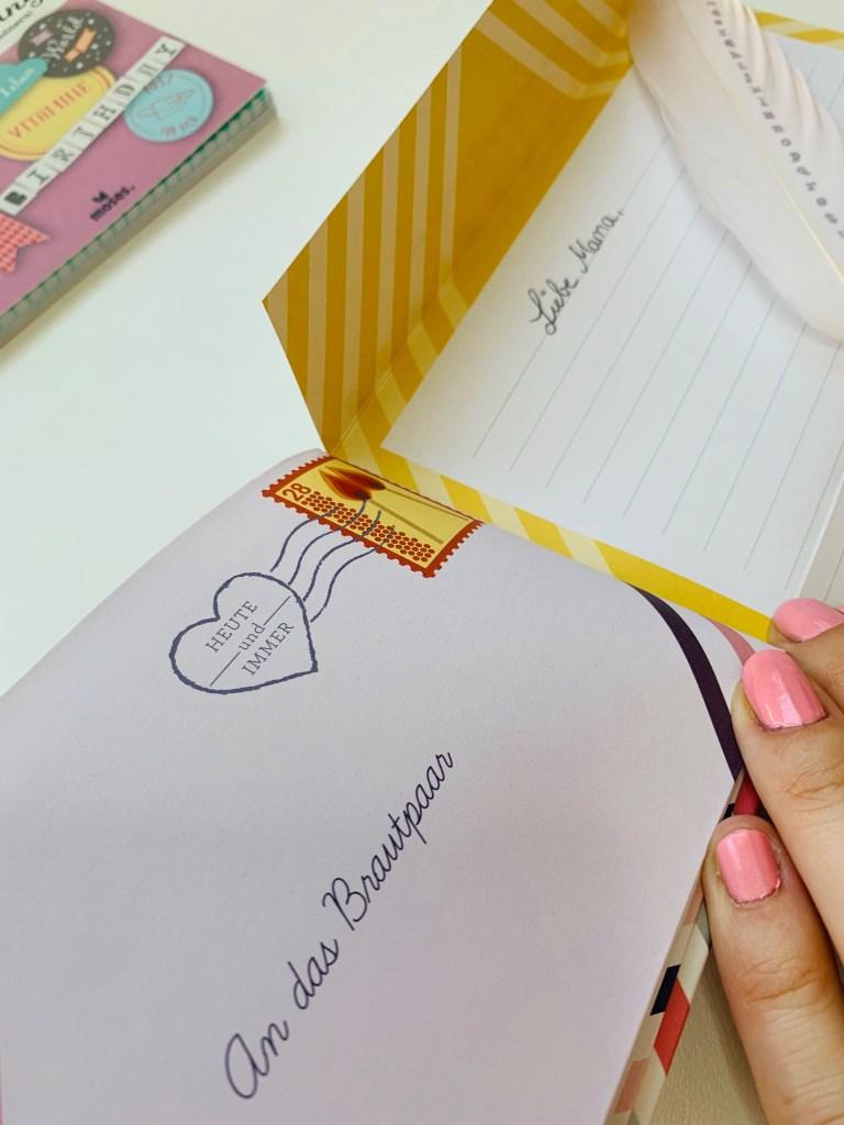 Briefe an das Brautpaar mosesverlag