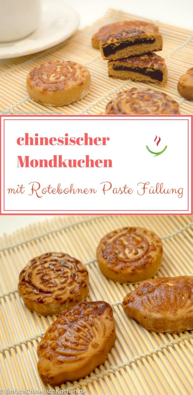 豆沙月饼_Mondkuchen mit Rotebohnen Paste Füllung Kopie