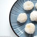 糯米糍- chinesische Klebreis Bällchen mit Mango Füllung