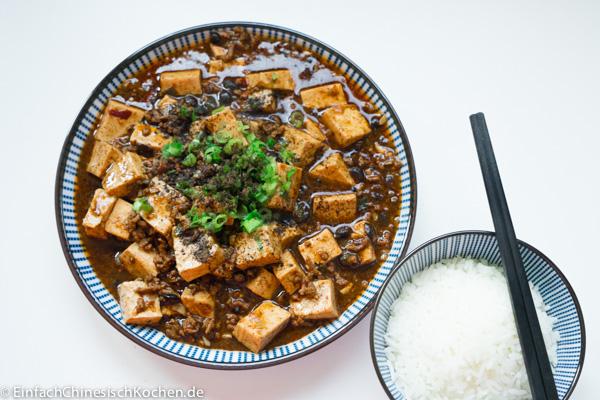 麻婆豆腐(Mápó dòufu) - Mapo Tofu