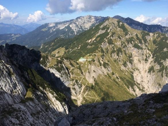 Ausblick vom Ausstieg