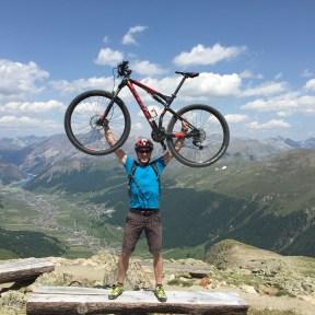 Mountainbiken in den italienischen Alpen, einfachmalraus.net