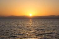 Sonnenaufgang in der Ägäis, www.einfachmalraus.net