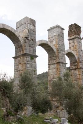 Aquädukt bei Moria, Lesbos, einfachmalraus.net