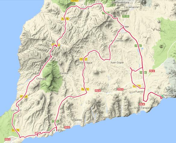 Rennradtour 2 Fuerteventura