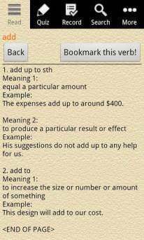English Grammar - Phrasal Verb 05