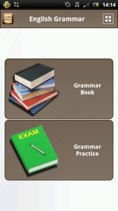 [Aplicación Android] English Grammar Book