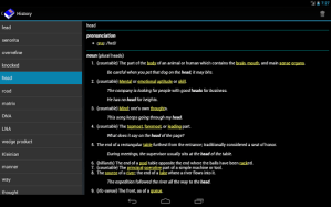 [Aplicacion Android] Diccionario Inglés - Offline