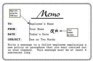 Como Escribir Un Memorandum En Ingles Eingleses