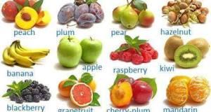 Vocabulario específico: Frutas