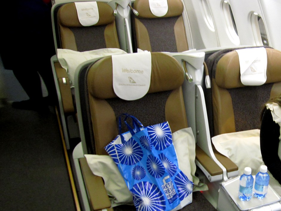 Review South African Airways A330-200 Business Class LHR-JNB