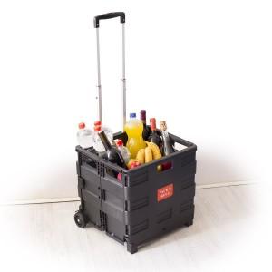 Faltbox Einkaufstrolley / Weihnachtsgeschenk ➤ Einkaufstrolley