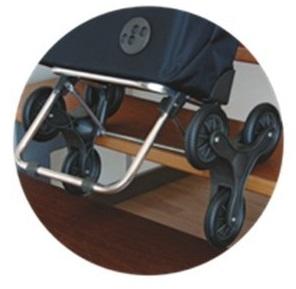 Einkaufstrolley mit Treppensteiger Funktion Treppe