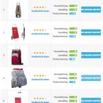 Einkaufstrolley Vergleichstabelle | Einkaufstrolley-Vergleich.de / Weihnachtsgeschenk - Einkaufstrolley Teil 1