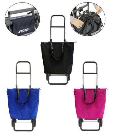 ROLSER LOGIC RG MINI BAG PLUS MF Detail - Einkaufstrolley-Vergleich.de