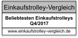 Beliebtesten Einkaufstrolleys Q4 2017 / Einkaufstrolley Vergleich / Einkaufstrolley Test