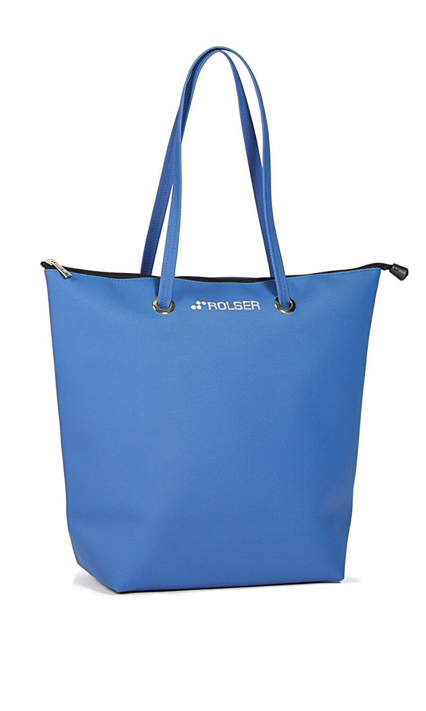 ROLSER Shopping Bag SUPERBAG blau | Einkaufstrolley-Vergleich.de