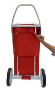 ROLSER Einkaufsroller Modell 8 - COM MF - Tasche abnehmbar - Einkaufstrolley-Vergleich.de