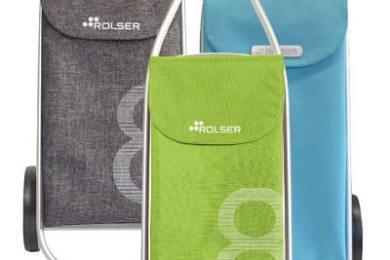 Der NEUE Einkaufsroller Rolser COM Tweed 8 - Außergewöhnliches Design - Einkaufstrolley-Vergleich.de