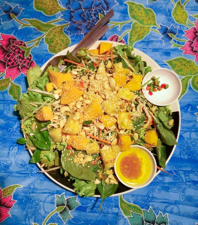 Herbal Salad, eine vegane Köstlichlkeit
