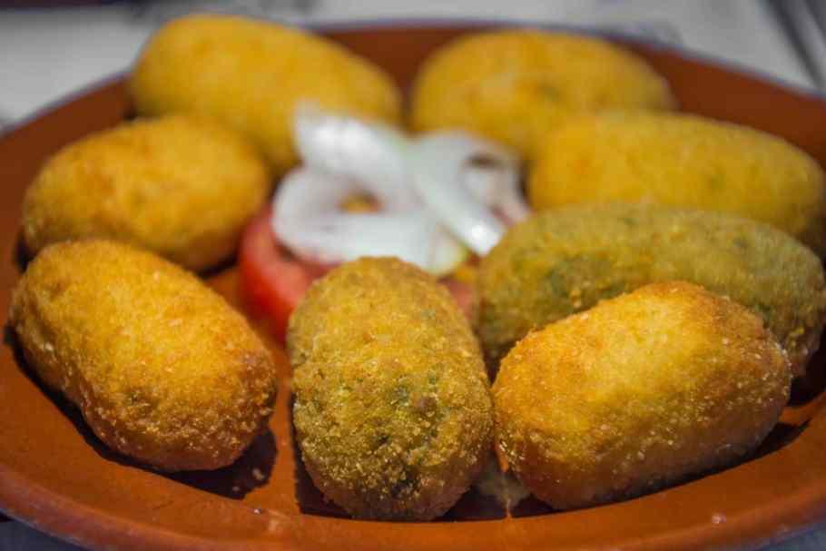 Essen auf Mallorca: Croquetes