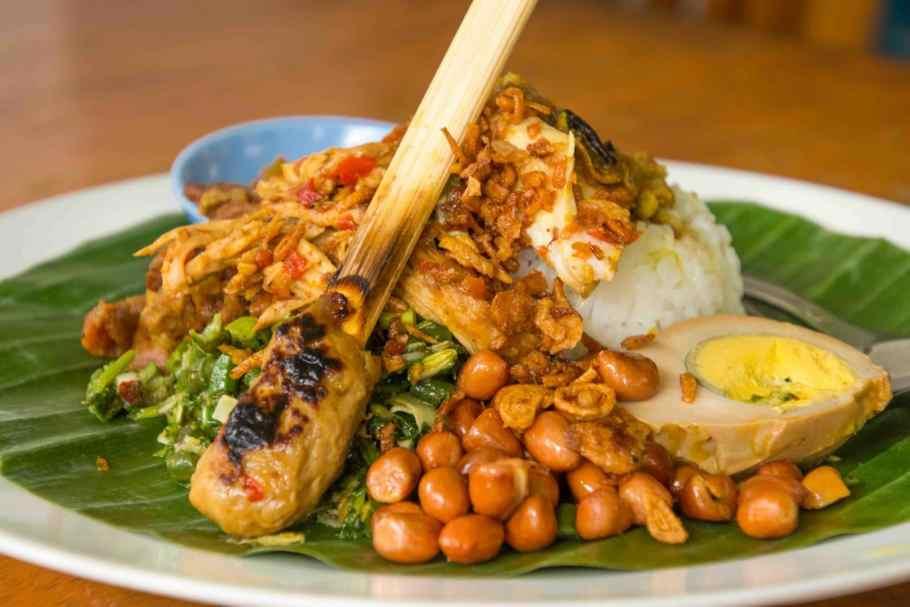 Bestes Nasi Campur auf Bali